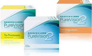 bausch lomb pure vision 2 hd